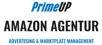 Das Logo der Amazon Agentur PrimeUp Advertising und Marktplatz Management